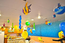 cing themed party home at 2102 aidan s 7th spongebob underwater themed