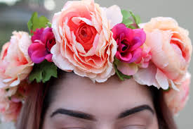 flowers for cheap 20 diy flower crowns diy formula