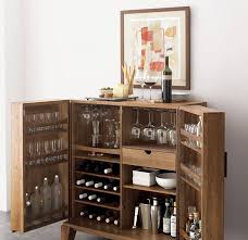 Modular Bar Cabinet Mini Bar Furniture For Stylish Entertainment Areas