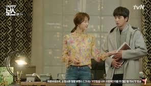 dramafire unfortunate boyfriend introverted boss episode 15 dramabeans korean drama recaps