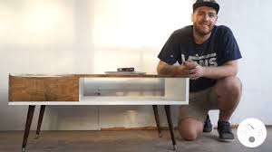 How To Build A Cheap End Table by Mid Century Modern Coffee Table Diy Modern Builds Ep 10 Youtube