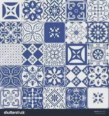 big vector set tiles background wallpaper stock vector 406014052