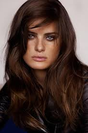 dark chocolate brown hair dye with natural look women hairstyles