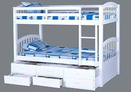 Bunk Beds With Trundle Bed Bunk Beds With Drawers White Bunk Beds With Drawers Interior