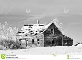 old farm house in winter stock images image 17614014