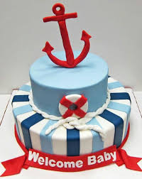 sailboat cake topper nautical baby shower cake cakes ideas