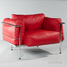 Lc3 Armchair Search All Lots Skinner Auctioneers