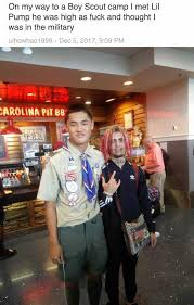 Boy Scout Memes - dopl3r com memes on my way to a boy scout c i met lil pump he