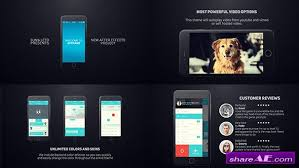 iphone 6 app presentation after effects project videohive