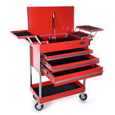 box cart buy maxim red cantilever service cart trolley tool box from just