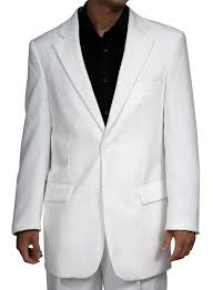 new men u0027s 2 button white dress suit includes jacket and pants at