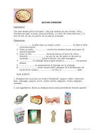 recette de cuisine ce1 3000 fle fiches pédagogiques gratuites