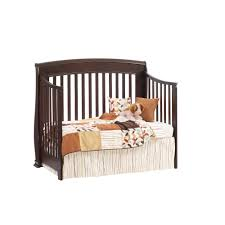 Simmons Convertible Crib by Natart Bella Collection Convertible Crib In Cocoa