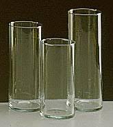 3 Vases Set Centerpiece Rentals