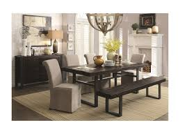 Casual Dining Room Sets Coaster Keller Casual Dining Room Group Del Sol Furniture