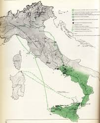 Map Of Italy And Sicily by Untitled Document