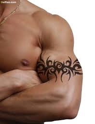 40 awesome tribal armband tattoos best tribal armband stencil
