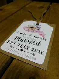 diy save the dates floral pink flower diy save the date cards tags wedding shabby