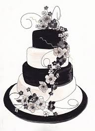wedding cake drawing pictures 14 of 23 black and white wedding cakes 662 photo