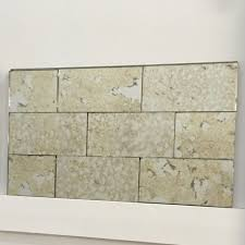 Mirror Wall Tiles by Antique Mirror Subway Tiles The Glass Shoppe A Division Of