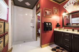 casino games bedroom and ensuite royal flush bathrom at the great