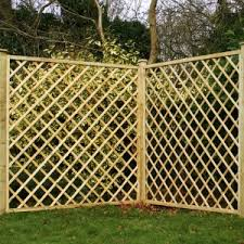 Fence Panels With Trellis Trellis Fencing Great Deals At Sheds Co Uk