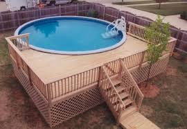 pool deck designs for a 24 round above ground plans deck