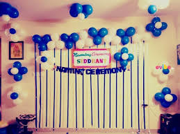 simple balloon decoration for home birthday simple balloon