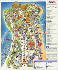 Disney World Park Maps 1997 Cedar Point Map Maps Local Pinterest Cedar Point And