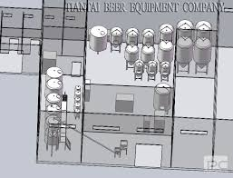 nano brewery floor plan tiantai help you design brewery layout accordinglytechnical
