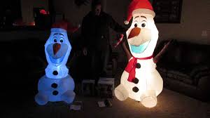 Large Inflatable Christmas Decorations Uk christmas inflatable olaf from disney u0027s frozen 6 feet vs 5 feet