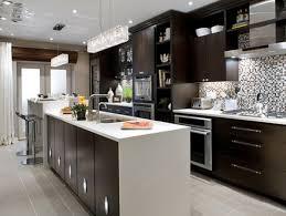 Kitchen Design Shows Contemporary White Kitchen Design Ideas With Cabinet Island Grey