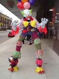 stilts clown costumes haunt of the falls