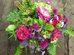 Fall Flowers For Wedding Wedding Flowers From Springwell Autumn Wedding Bouquet In Jewel Tones