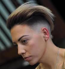 how to achieve swept back hairstyles for women u tube 20 cute shaved hairstyles for women