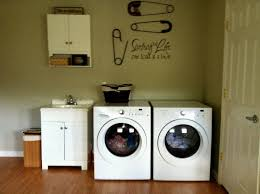 creative laundry room wall decor ideas on a budget excellent on