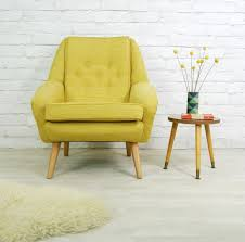 Modern Easy Chairs Design Ideas Beautiful 70s Retro Chair Design Ideas With Wooden Legs And Lime