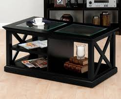 black and glass coffee table coffee table black ferreira coffee table black coffee table black