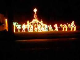 amazing holy nativity scene in lights lynden wa wow youtube