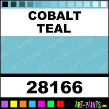 cobalt teal professional watercolor paints 28166 cobalt teal
