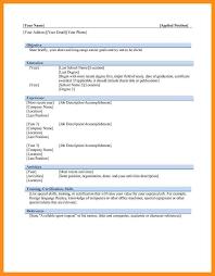 Chronological Resume Template 9 Work Resume Template Word Agenda Exle