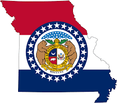 Map Of Springfield Mo File Flag Map Of Missouri Svg Wikimedia Commons