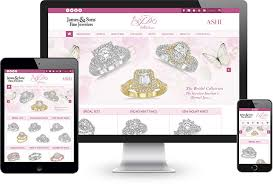 bridal websites free micro websites to maximize your bridal fashion jewelry sales