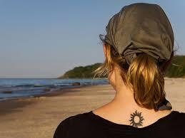 26 striking tribal sun tattoos
