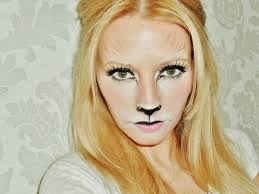 lion make up tutorial youtube
