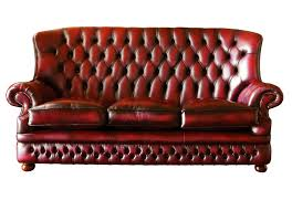 Maroon Leather Sofa Maroon Leather Sofa With Tufted Height Back Furniture