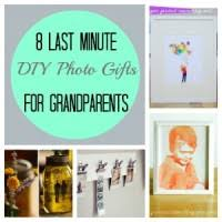handmade grandparent gifts 8 last minute diy photo gifts for grandparents