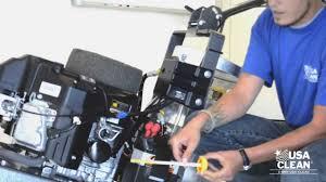 quarterly maintenance on a 17hp kawasaki engine youtube