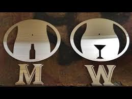 Bathroom Symbols Funny U0026 Creative Bathroom Signs 2 Men V Women Youtube