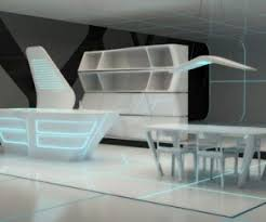 Futuristic Corian Tables By Stuart Melrose - Corian kitchen table